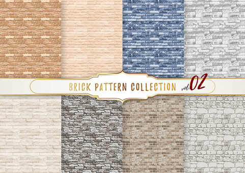 Brick pattern 02