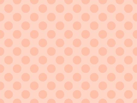 Polka dots background Orange