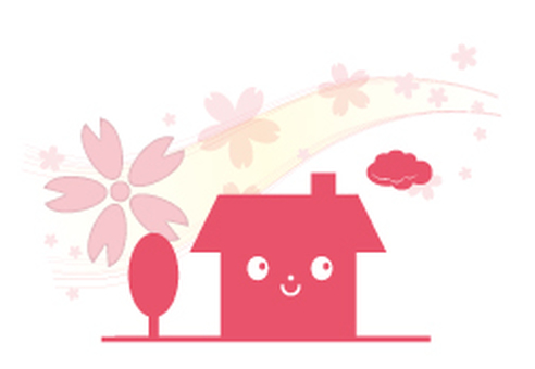 Cherry blossom dwelling _ cherry blossoms
