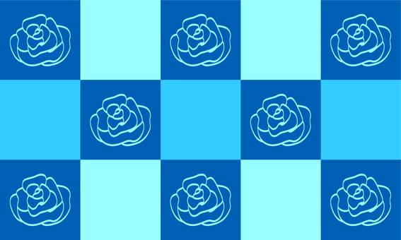 Rose background wallpaper blue
