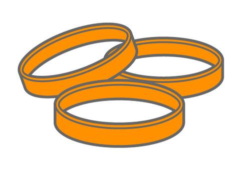 Dementia supporter - Orange Ring