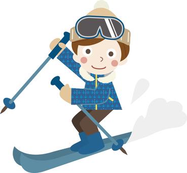 Winter game 03 (ski C_ 03)