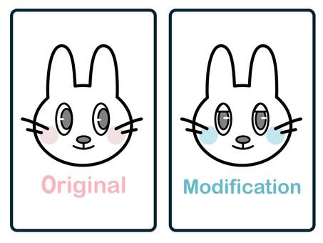 Illustration of copyright (same identity) processing / alteration