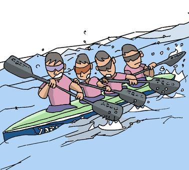 Canoeing ②
