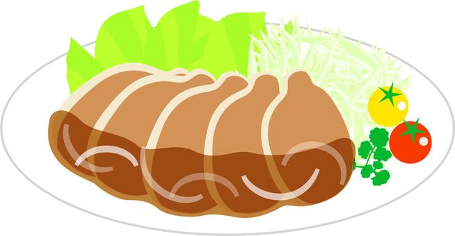 Swine's gingerbread