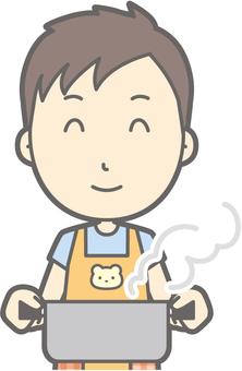 Nursery teacher - hot pot - bust