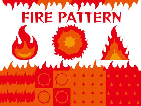 Fire pattern