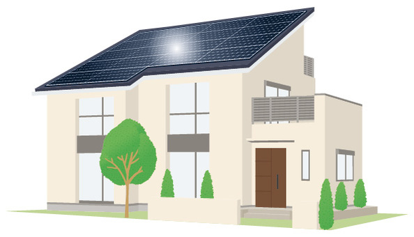 Photovoltaic house _ 4