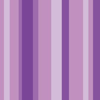 Same stripe color (purple)