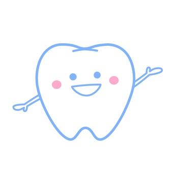 치아 (블루)
