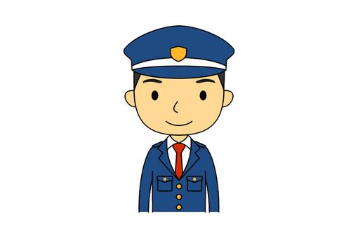 Male upper body guard 1