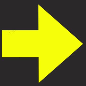 矢印 カーソル 黒背景黄色03
