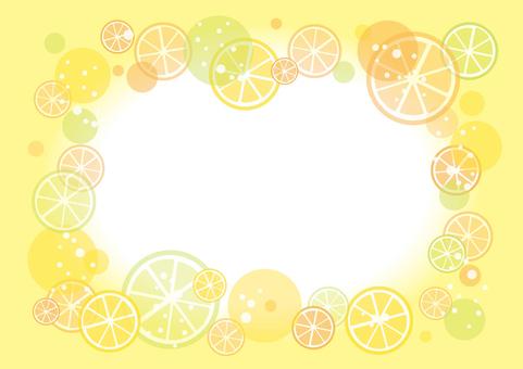 Simple Citrus Frame 01