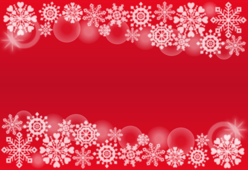 Snow crystal · background (red)