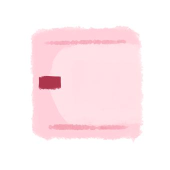 Sanitary napkin daytime pink