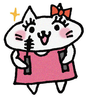 Mascara cat