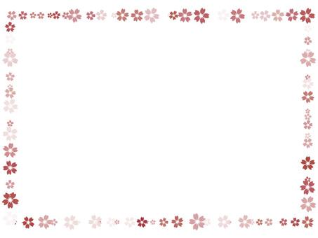Cherry blossoms frame 10
