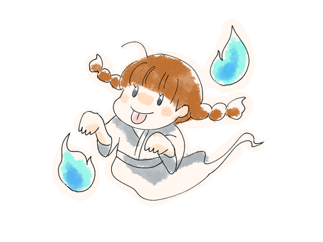 Girl ghost
