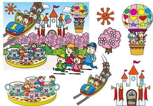 Townscape - Family - Amusement Park 02