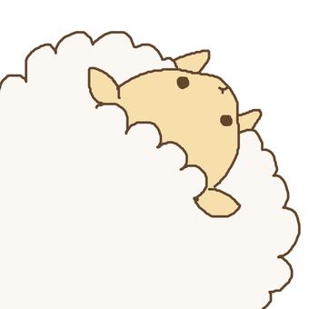 Naname sheep color