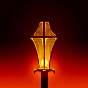 Lighting of street lights 2