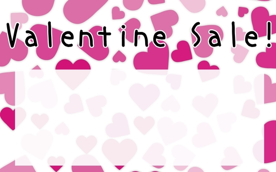Price tag Valentine's Day Sale