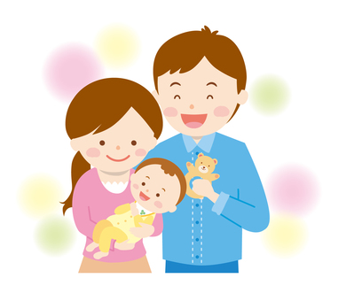 Family 2 households (3 people) 01 _ Baby