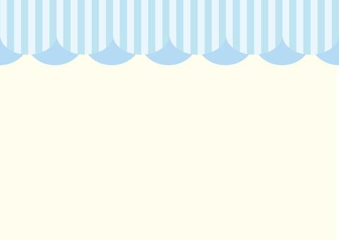 천막 카드 하늘색
