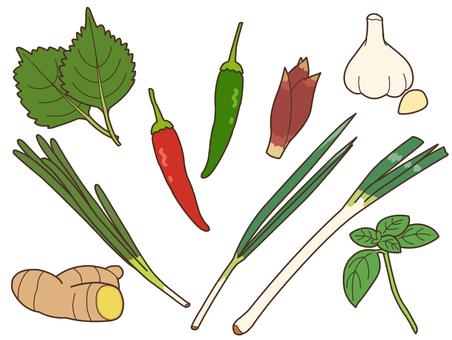 Flavored vegetables