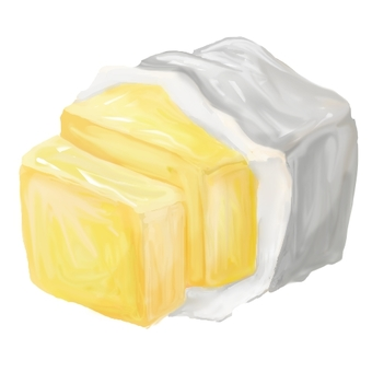 Solid butter