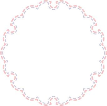 Snow rings pattern 03