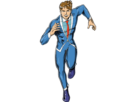 Recruit Man running