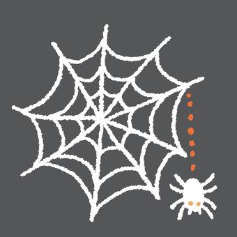 Halloween spider's nest 2