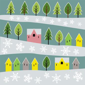 斯堪的納維亞的冬天