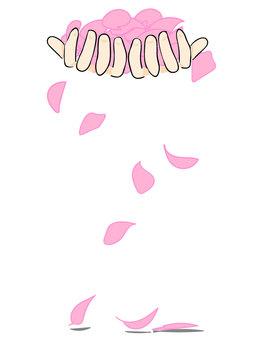 Overflowing petals