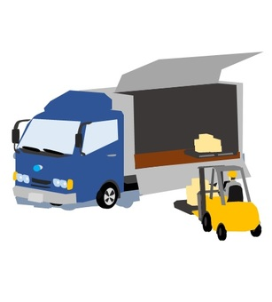 Transportation of luggage to truck (no wire)