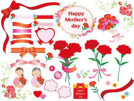 Mother's Day _ red flower