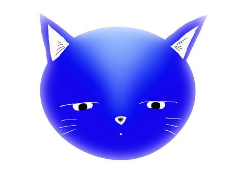 Cat · Blue