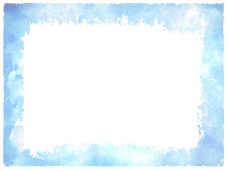 淡蓝色的框架