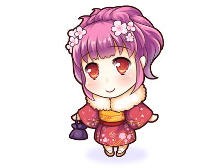 Girls (kimono)
