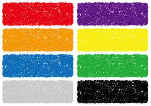 Crayon texture background set