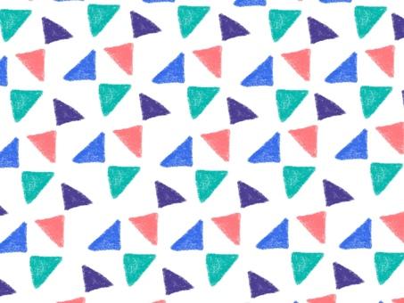 Hand-drawn pattern white