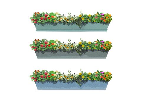 Flower bed 002