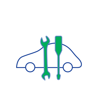 Car service icon 2 pictogram
