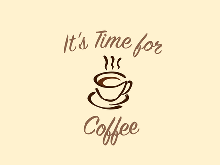 Background wallpaper 13 Coffee time