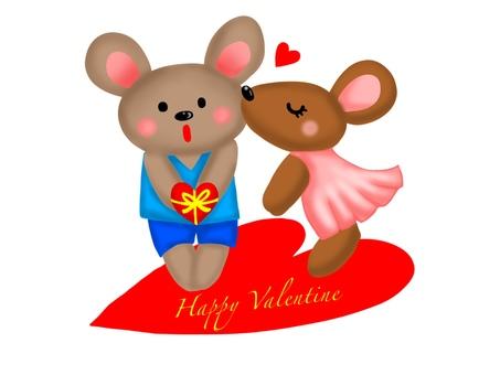 발렌타인 쥐
