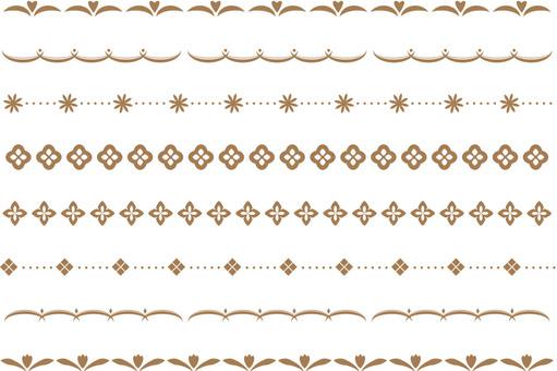 Simple decorative border 4