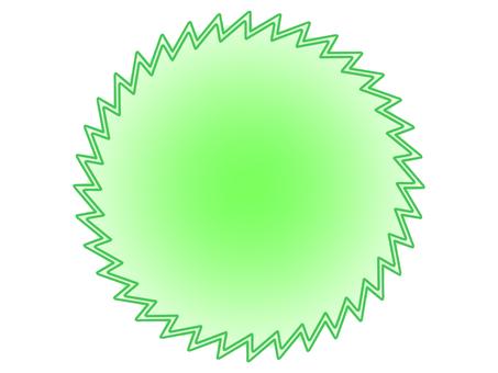 Light green card