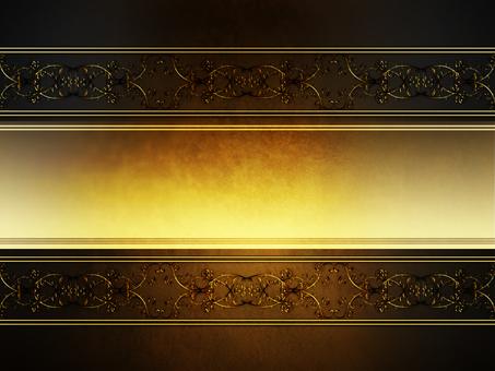 빈티지 gold 장식 brown