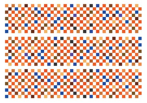 Mosaic tile _ color _ warm color